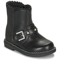 Topánky Dievčatá Čižmy do mesta Chicco CANCAN Čierna