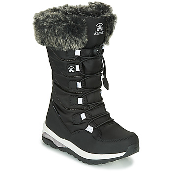Topánky Dievčatá Snehule  KAMIK PRAIRIE Čierna