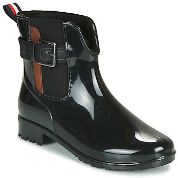 Topánky Ženy Gumaky Tom Tailor  Čierna