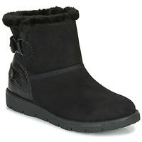 Topánky Ženy Polokozačky Tom Tailor 93105-NOIR Čierna
