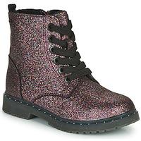 Topánky Dievčatá Polokozačky Tom Tailor 71004-VIOLET-C Fialová