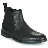 Topánky Muži Polokozačky Clarks RONNIE TOP Čierna