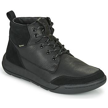 Topánky Muži Polokozačky Clarks ASHCOMBEHIGTX Čierna