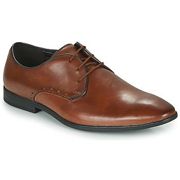 Topánky Muži Derbie Clarks BAMPTON PARK Ťavia hnedá