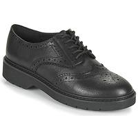 Topánky Ženy Derbie Clarks WITCOMBE ECHO Čierna