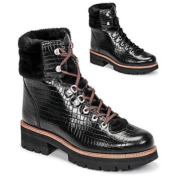 Topánky Ženy Polokozačky Clarks ORIANNA HIKER Čierna