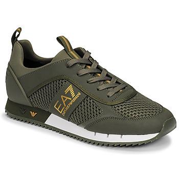 Topánky Muži Nízke tenisky Emporio Armani EA7 XK050 Kaki