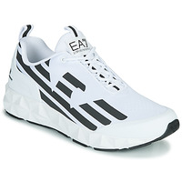 Topánky Muži Nízke tenisky Emporio Armani EA7 XCC52 Biela / Čierna