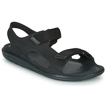 Topánky Muži Sandále Crocs SWIFTWATER EXPEDITION SANDAL M Čierna