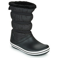 Topánky Ženy Snehule  Crocs CROCBAND BOOT W Čierna