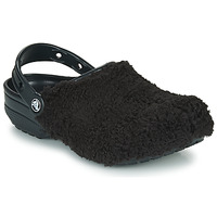 Topánky Nazuvky Crocs CLASSIC FUZZ MANIA CLOG Čierna