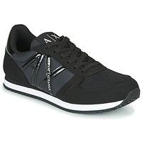 Topánky Ženy Nízke tenisky Armani Exchange XCC62-XDX031 Čierna