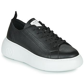 Topánky Ženy Nízke tenisky Armani Exchange XCC64-XDX043 Čierna
