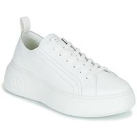 Topánky Ženy Nízke tenisky Armani Exchange XCC64-XDX043 Biela