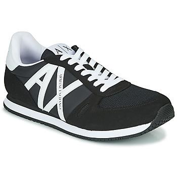 Topánky Muži Nízke tenisky Armani Exchange XCC68-XUX017 Čierna