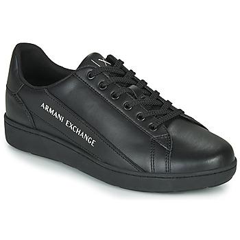 Topánky Muži Nízke tenisky Armani Exchange XV262-XUX082 Čierna