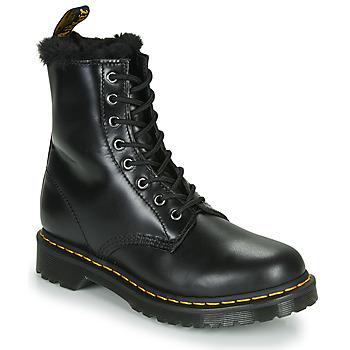 Topánky Ženy Polokozačky Dr Martens 1460 SERENA Čierna