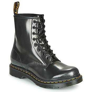 Topánky Ženy Polokozačky Dr Martens 1460 W Strieborná