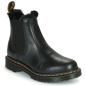 Topánky Ženy Polokozačky Dr Martens 2976 LEONORE Čierna