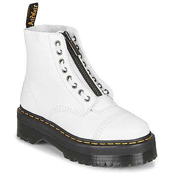 Topánky Ženy Polokozačky Dr Martens Sinclair Biela