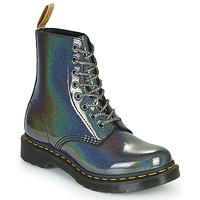 Topánky Ženy Polokozačky Dr Martens VEGAN 1460 PASCAL Strieborná