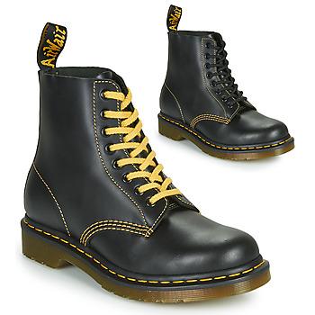 Topánky Muži Polokozačky Dr Martens 1460 PASCAL ATLAS Čierna