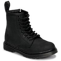 Topánky Deti Polokozačky Dr Martens 1460 SERENA MONO J Čierna