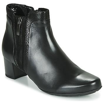 Topánky Ženy Čižmičky Gabor 5282857 Čierna