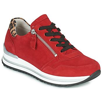 Topánky Ženy Nízke tenisky Gabor 5652838 Červená