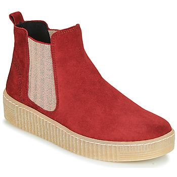 Topánky Ženy Polokozačky Gabor 5373118 Červená