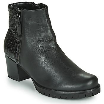 Topánky Ženy Čižmičky Gabor 5665367 Čierna