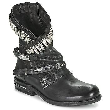 Topánky Ženy Polokozačky Airstep / A.S.98 TIAL FOGLIE Čierna