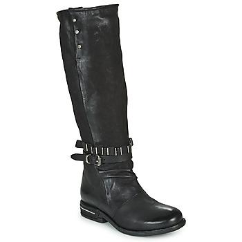 Topánky Ženy Čižmy do mesta Airstep / A.S.98 TEAL HIGH Čierna