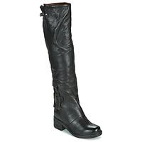 Topánky Ženy Čižmy do mesta Airstep / A.S.98 NOVA 17 HIGH Čierna