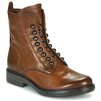 Topánky Ženy Polokozačky Mjus CAFE STYLE Ťavia hnedá