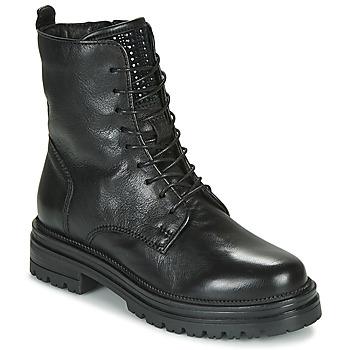 Topánky Ženy Polokozačky Mjus DOBLE LACE Čierna