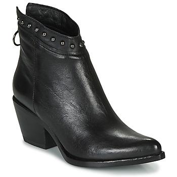 Topánky Ženy Čižmičky Mjus TEP Čierna