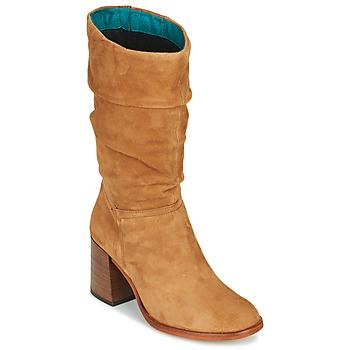 Topánky Ženy Čižmy do mesta Mjus TUA Béžová