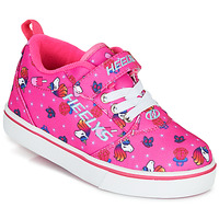 Topánky Dievčatá Kolieskové topánky Heelys PRO 20 X2 Ružová