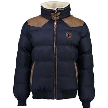 Oblečenie Chlapci Vyteplené bundy Geographical Norway ABRAMOVITCH BOY Námornícka modrá