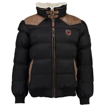 Oblečenie Chlapci Vyteplené bundy Geographical Norway ABRAMOVITCH BOY Čierna