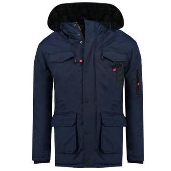 Oblečenie Chlapci Parky Geographical Norway ALCALINE BOY Námornícka modrá
