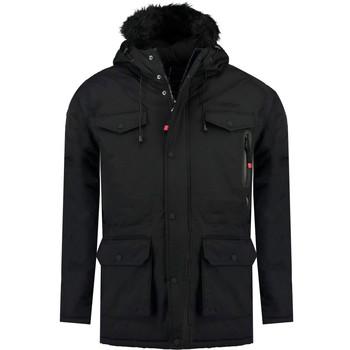 Oblečenie Chlapci Parky Geographical Norway ALCALINE BOY Čierna