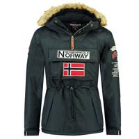 Oblečenie Chlapci Parky Geographical Norway BARMAN BOY Námornícka modrá