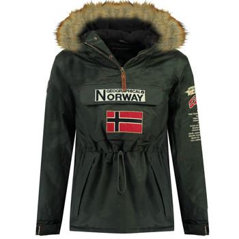Oblečenie Chlapci Parky Geographical Norway BARMAN BOY Šedá