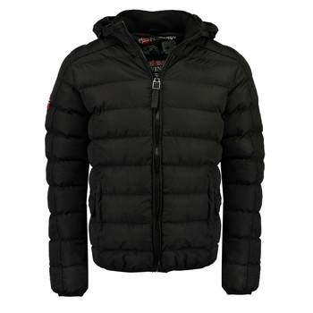 Oblečenie Chlapci Vyteplené bundy Geographical Norway BOMBE BOY Čierna