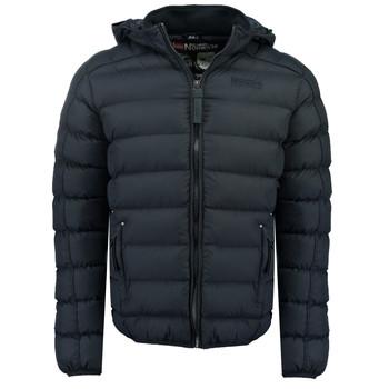 Oblečenie Chlapci Vyteplené bundy Geographical Norway BOMBE BOY Námornícka modrá