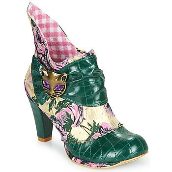 Topánky Ženy Čižmičky Irregular Choice MIAOW Zelená