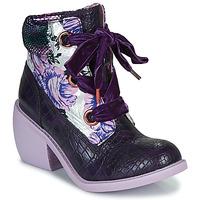 Topánky Ženy Polokozačky Irregular Choice SCARPER Fialová
