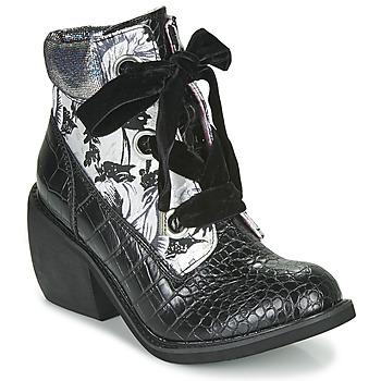 Topánky Ženy Polokozačky Irregular Choice SCARPER Čierna